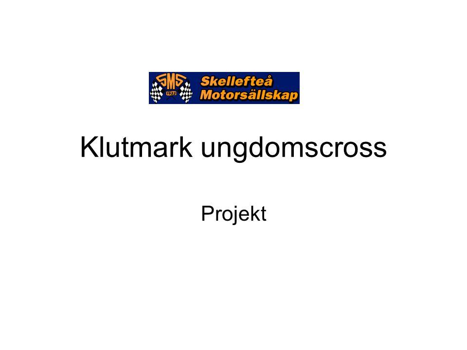 Klutmark ungdomscross Projekt