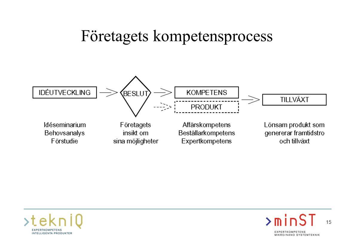 15 Företagets kompetensprocess