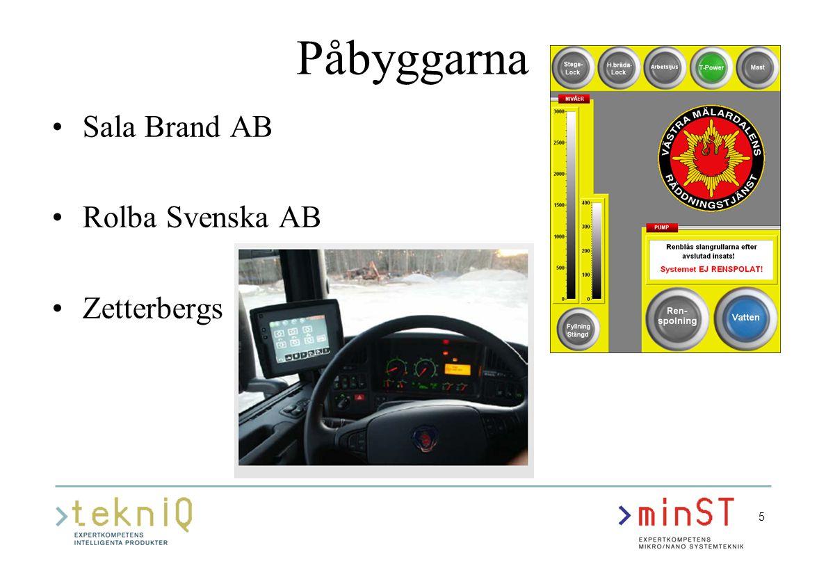 6 Företagsexempel ABA i Anderstorp Sensorer med trådlös överföring av mätdata för styrning av flöden i system med gas och kyla i morgondagens bilar Konceptstudie och demonstratorprojekt Kompetensaktiviteter, bl.a.: –Idéseminarium –Besök på Ångströmlaboratoriet (MSL) i Uppsala – Systemteknik – Upphandling av inbyggda system –MSW2006