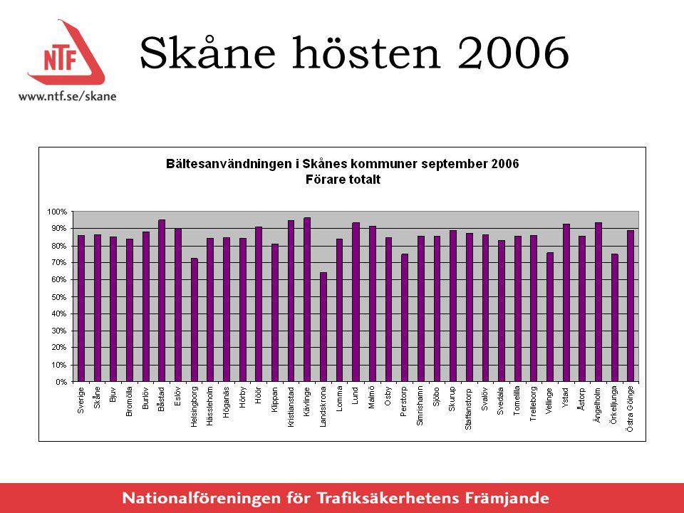 Skåne hösten 2006