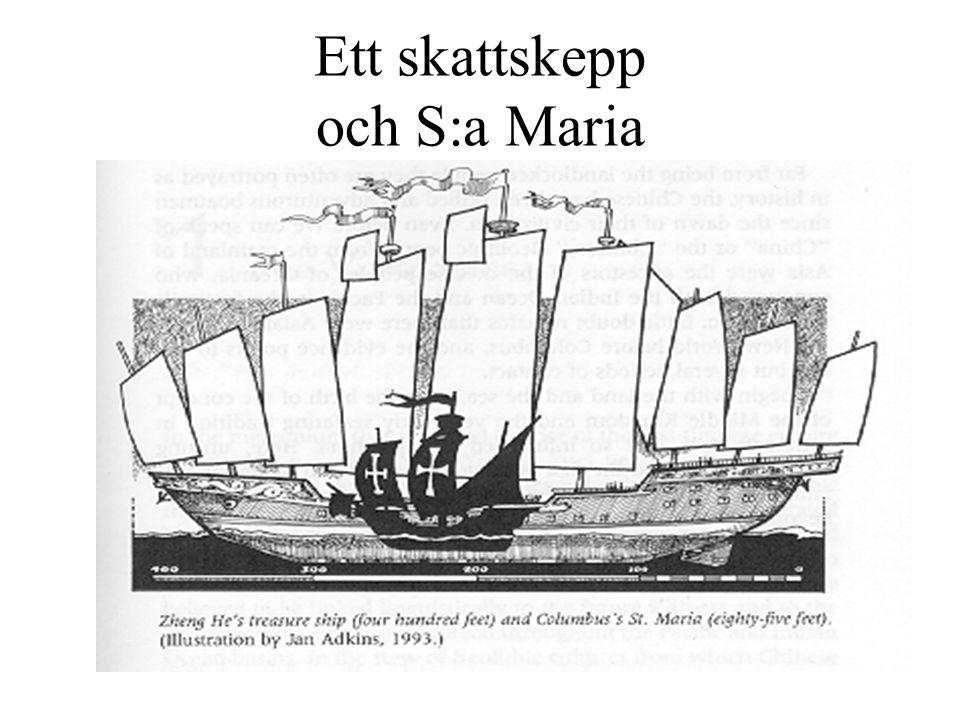 Ett skattskepp och S:a Maria