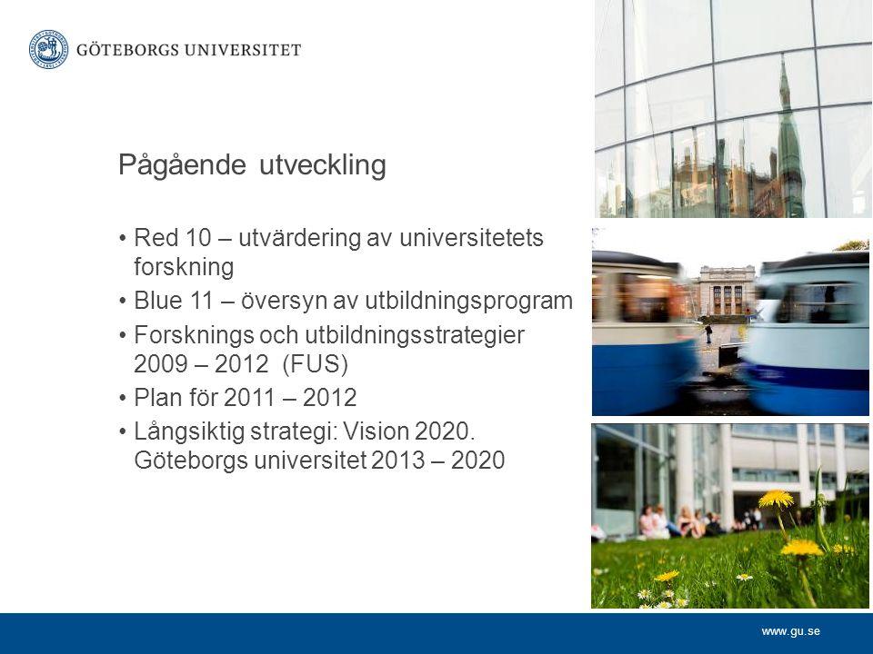 www.gu.se Göteborgs universitet strävar efter….