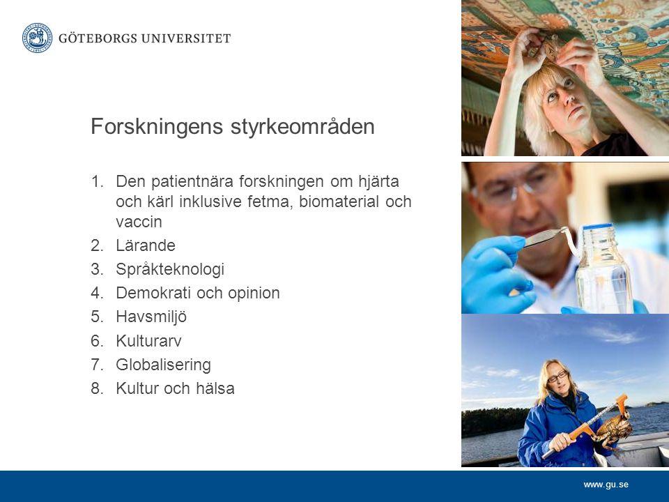 www.gu.se Utbildning 92 procent av de studenter som utexaminerades från Göteborgs universitet under 2003–2007 förvärvsarbetar i dag.