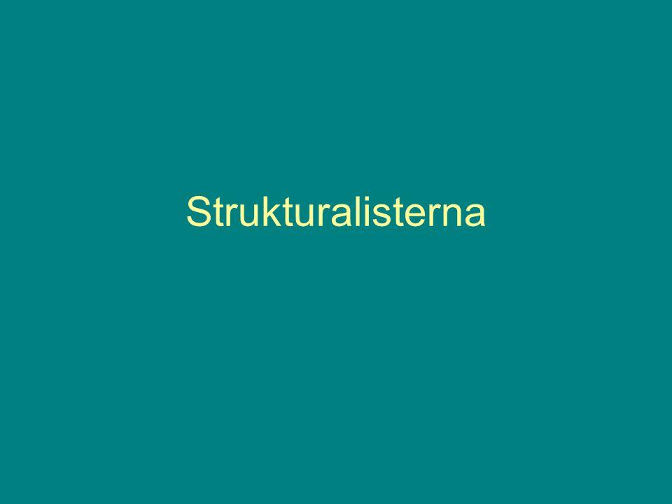 Strukturalisterna