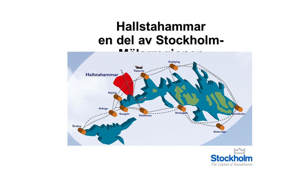 Hallstahammar en del av Stockholm- Mälarregionen