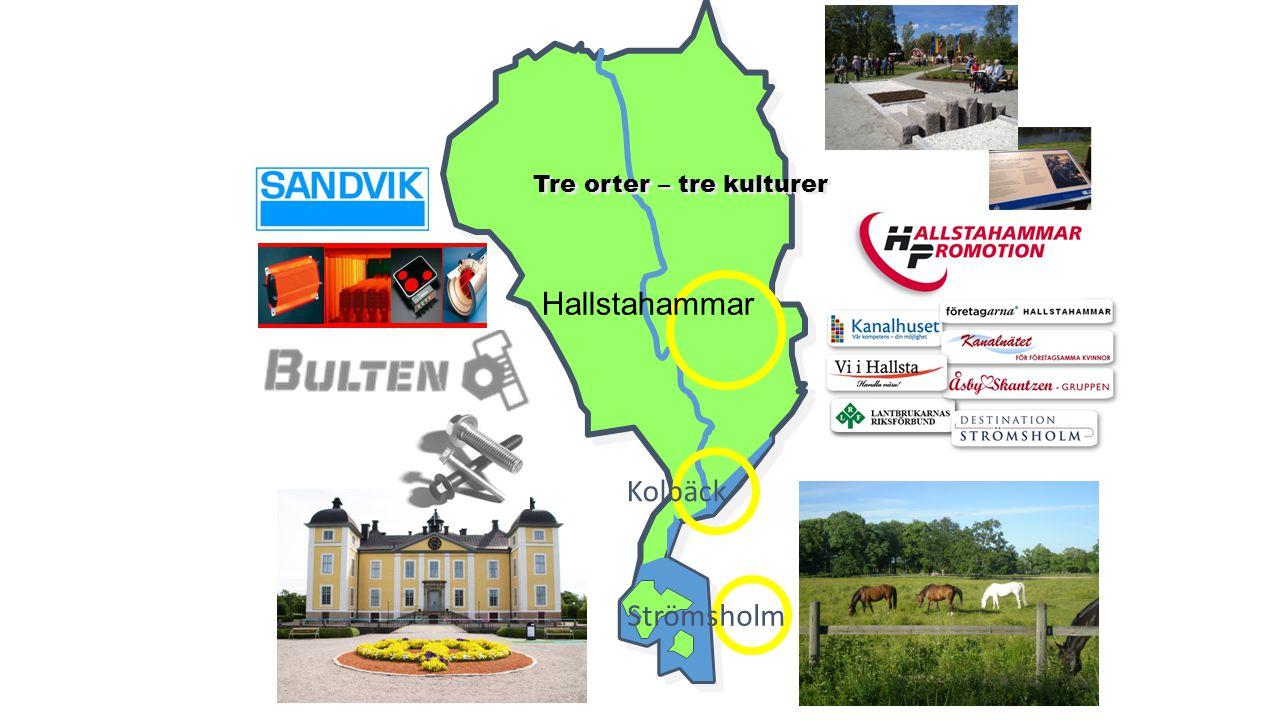 Hallstahammar Kolbäck Strömsholm Tre orter – tre kulturer