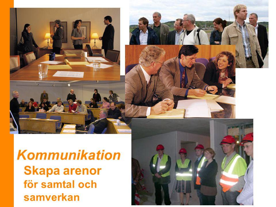 Kommunikation Skapa arenor för samtal och samverkan