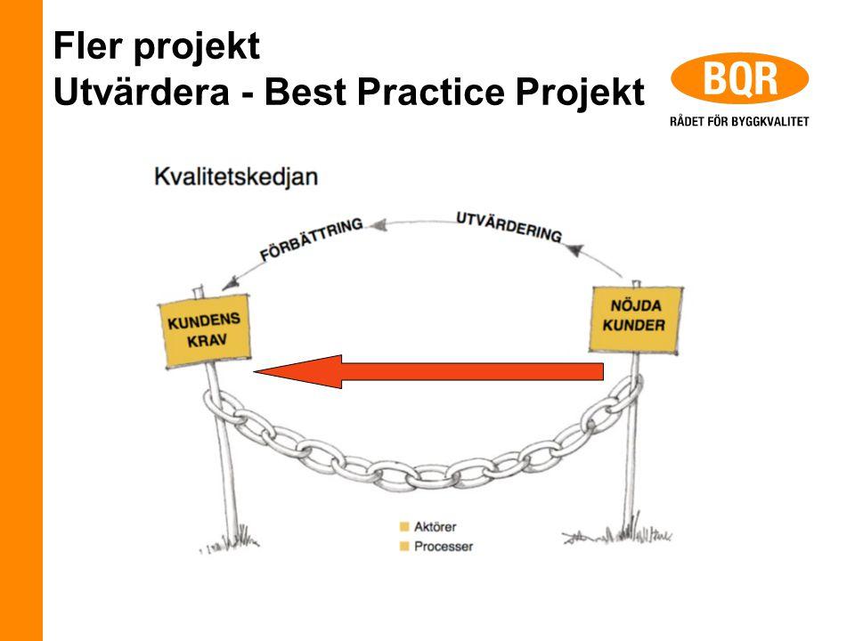 Fler projekt Utvärdera - Best Practice Projekt
