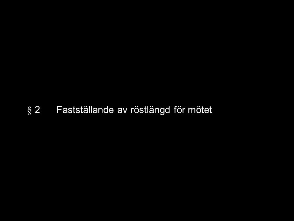 Valberedningen föreslår: Anders Bråmå
