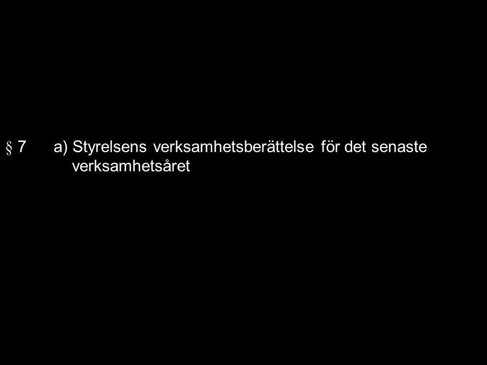 VERKSAMHETSBERÄTTELSE FÖR SÄSONGEN 2010-2011.