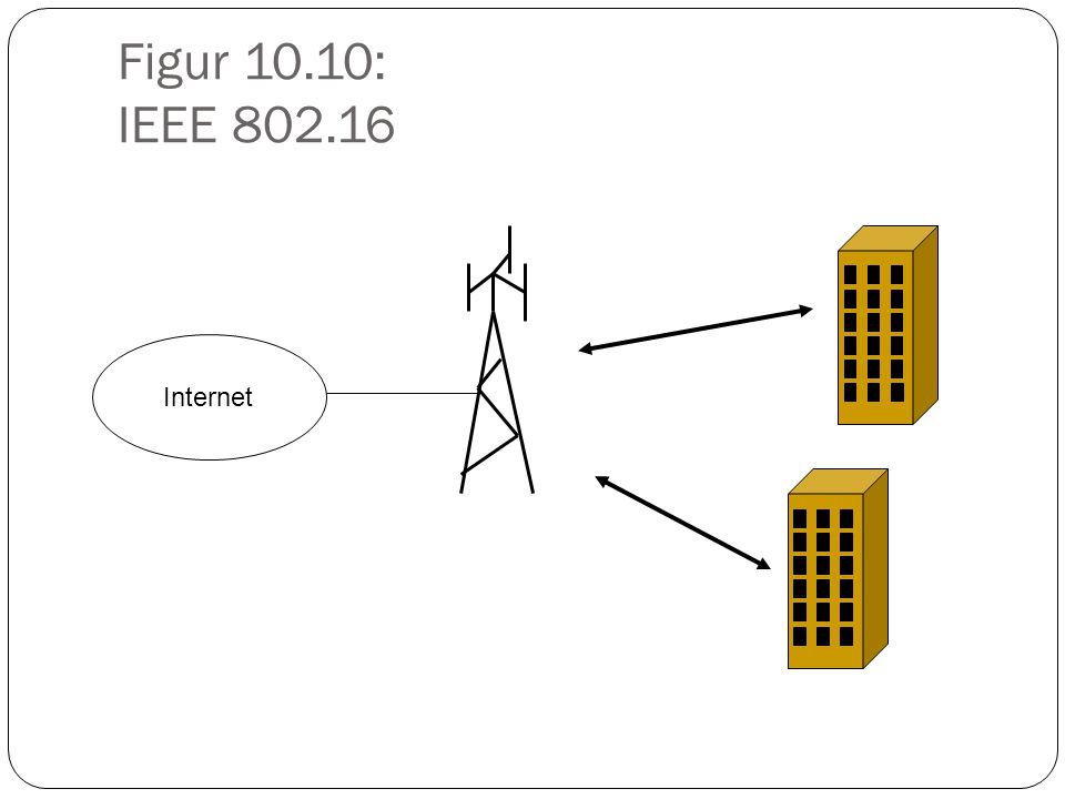 Figur 10.10: IEEE 802.16 Internet
