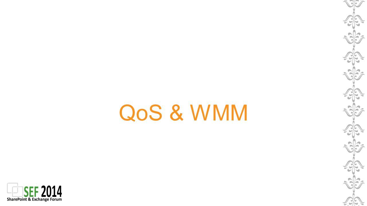 QoS & WMM