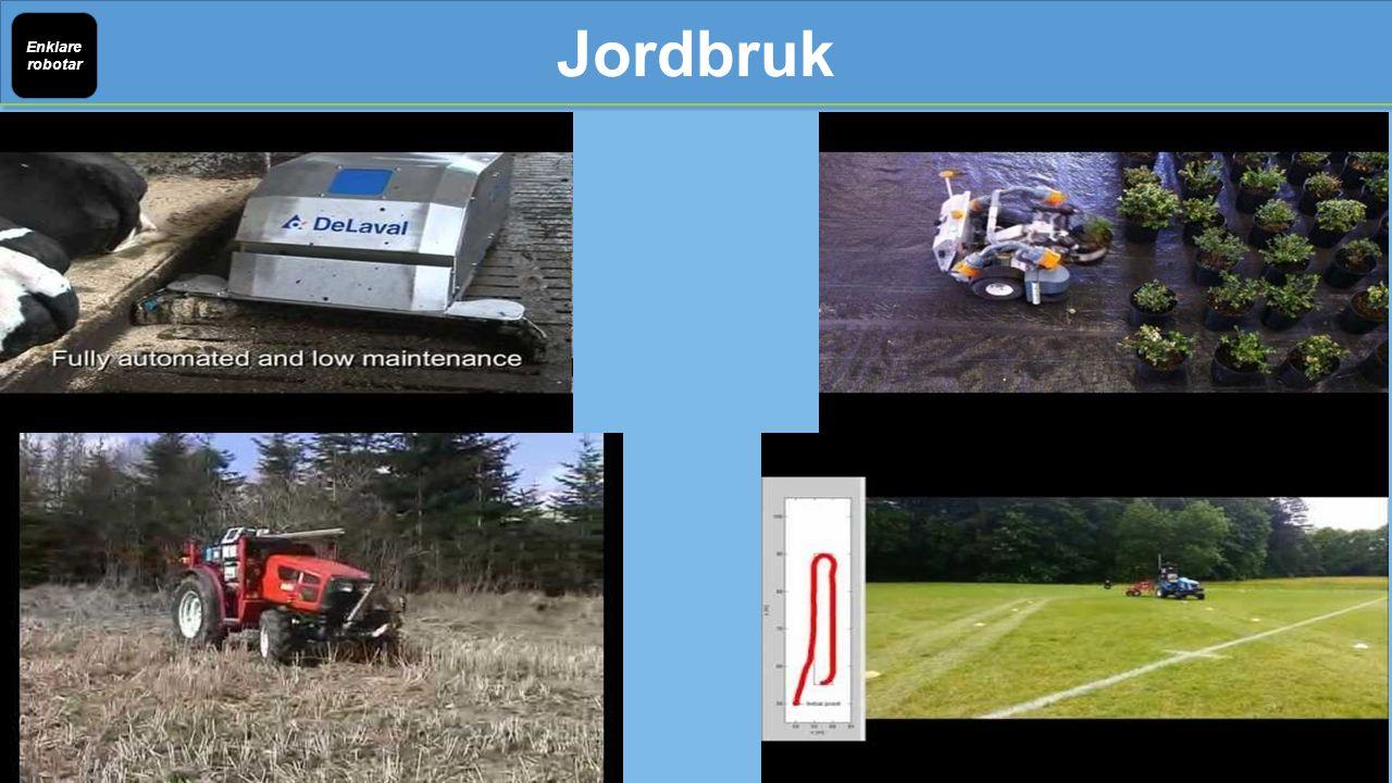 Jordbruk Enklare robotar