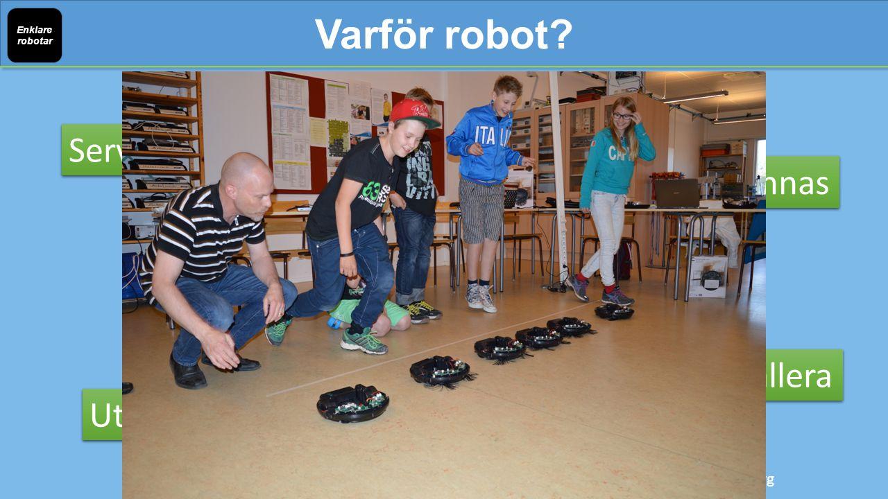 2014-2017 23.9 miljoner robotar 48.5 miljarder SEK Varför robot.
