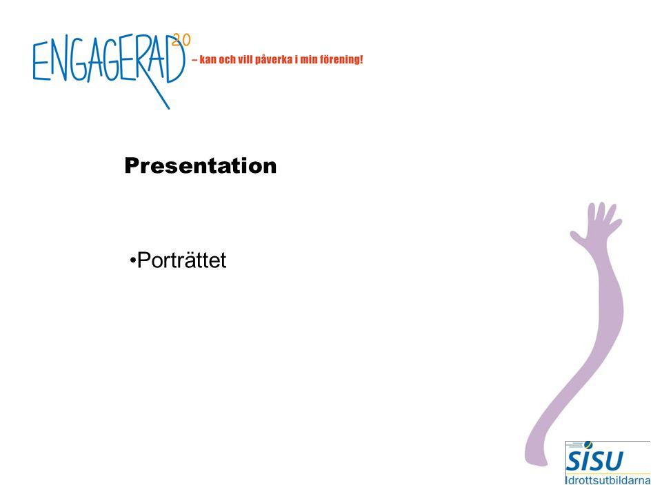 Presentation Porträttet