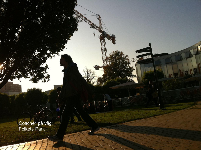 Coacher på väg: Folkets Park