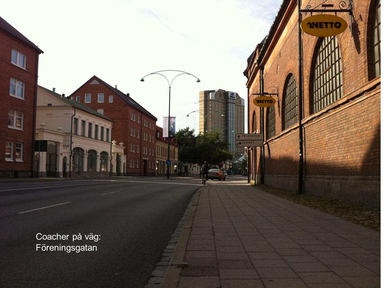 Coacher på väg: Föreningsgatan