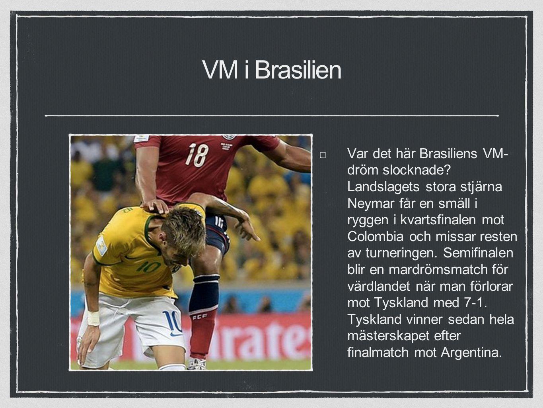 VM i Brasilien Var det här Brasiliens VM- dröm slocknade.