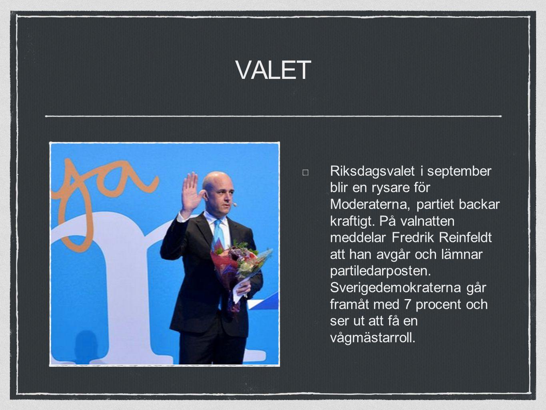 VALET Riksdagsvalet i september blir en rysare för Moderaterna, partiet backar kraftigt.