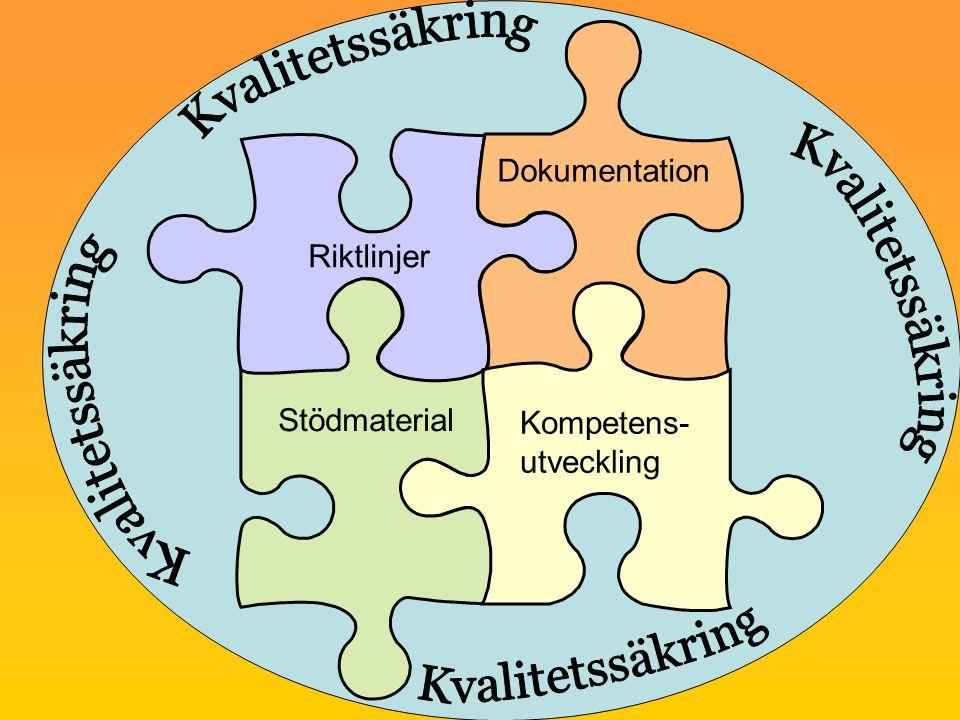 Riktlinjer Dokumentation Kompetens- utveckling Stödmaterial