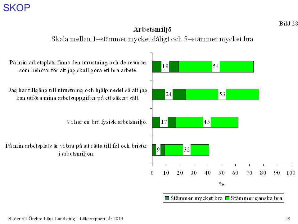 SKOP Bilder till Örebro Läns Landsting – Läkarrapport, år 201329