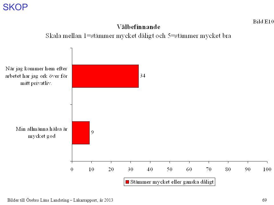 SKOP Bilder till Örebro Läns Landsting – Läkarrapport, år 201369