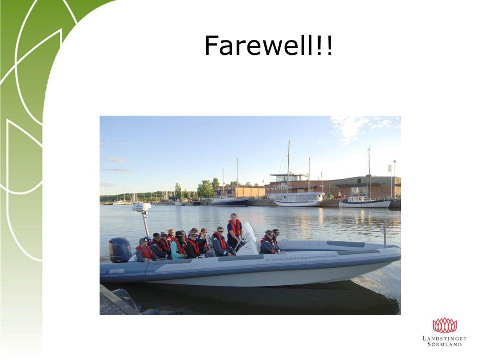 Farewell!!