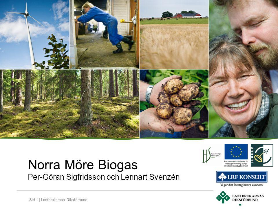 Sid 1 | Lantbrukarnas Riksförbund Norra Möre Biogas Per-Göran Sigfridsson och Lennart Svenzén