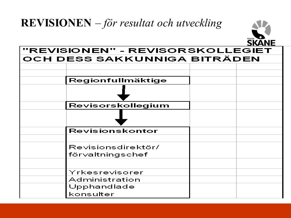 REVISIONEN – för resultat och utveckling