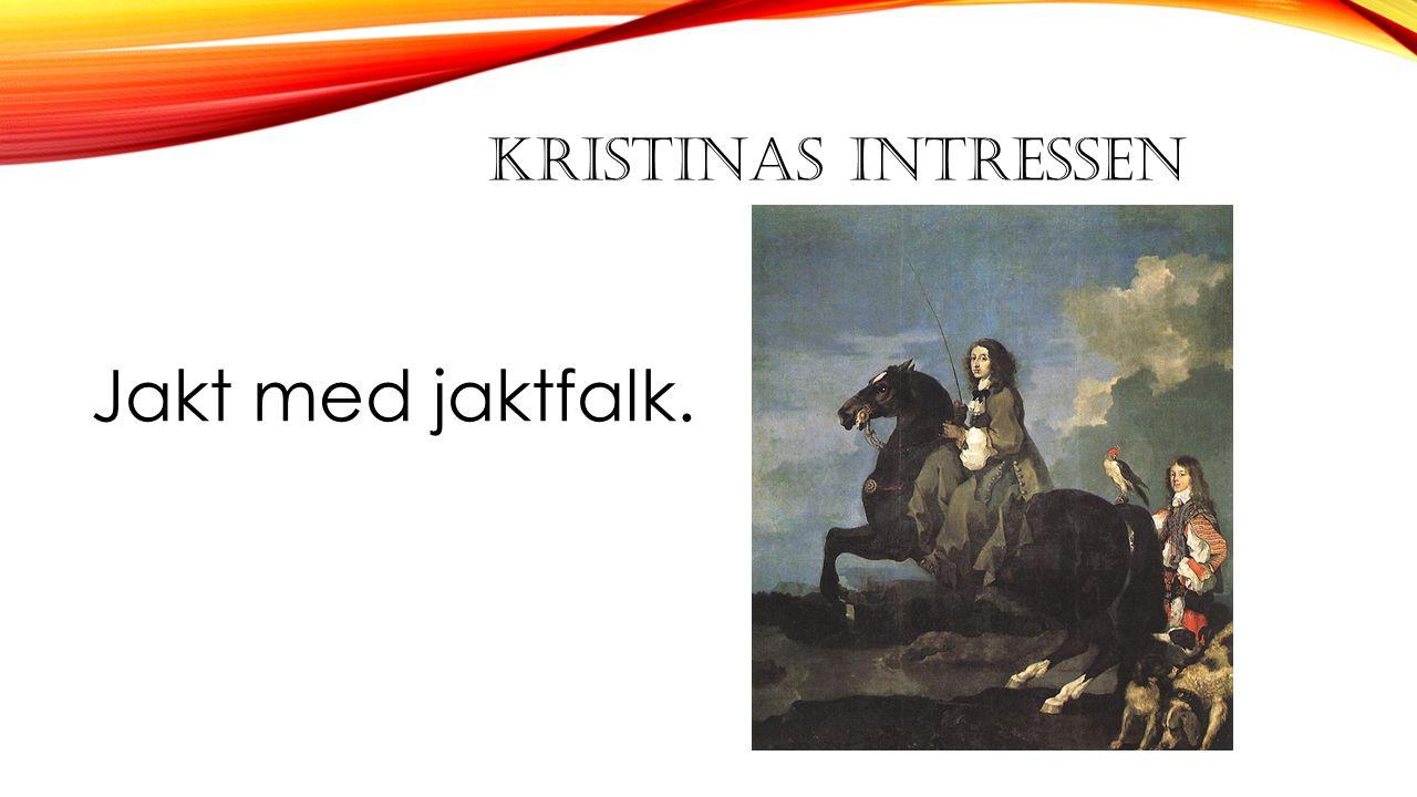 KRISTINAS INTRESSEN Jakt med jaktfalk.