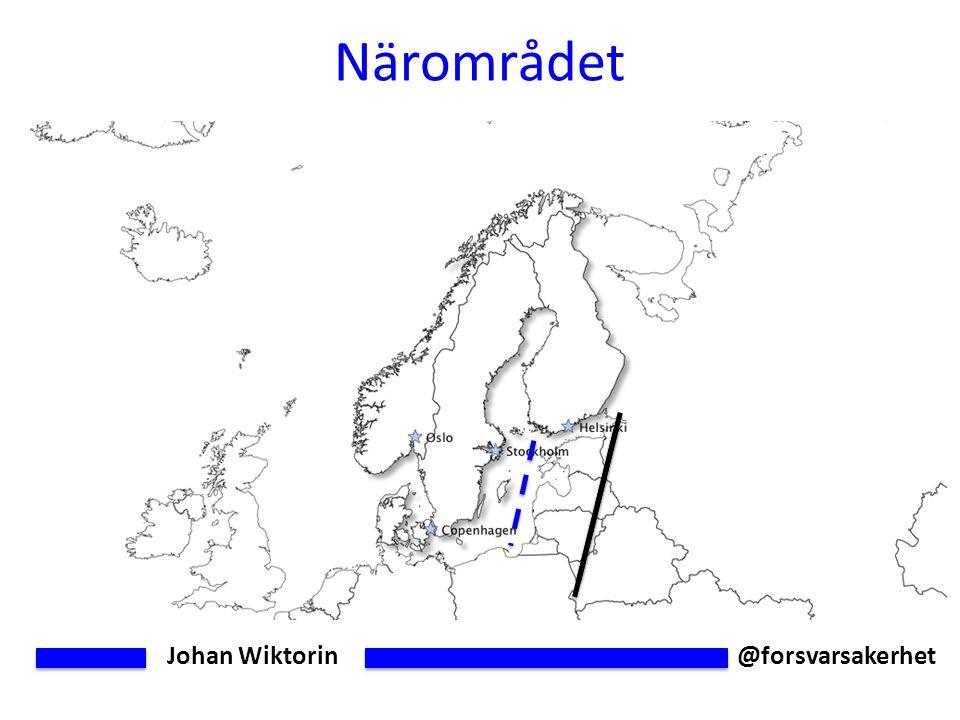 Johan Wiktorin @forsvarsakerhet Närområdet