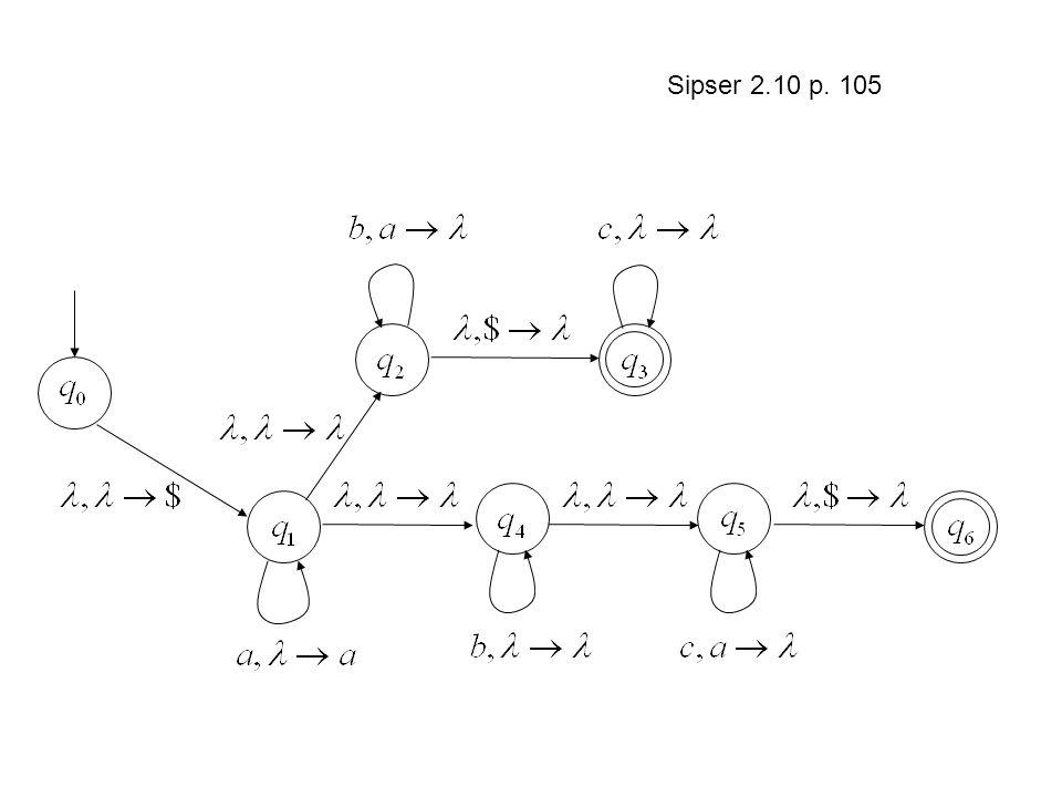 Sipser 2.10 p. 105