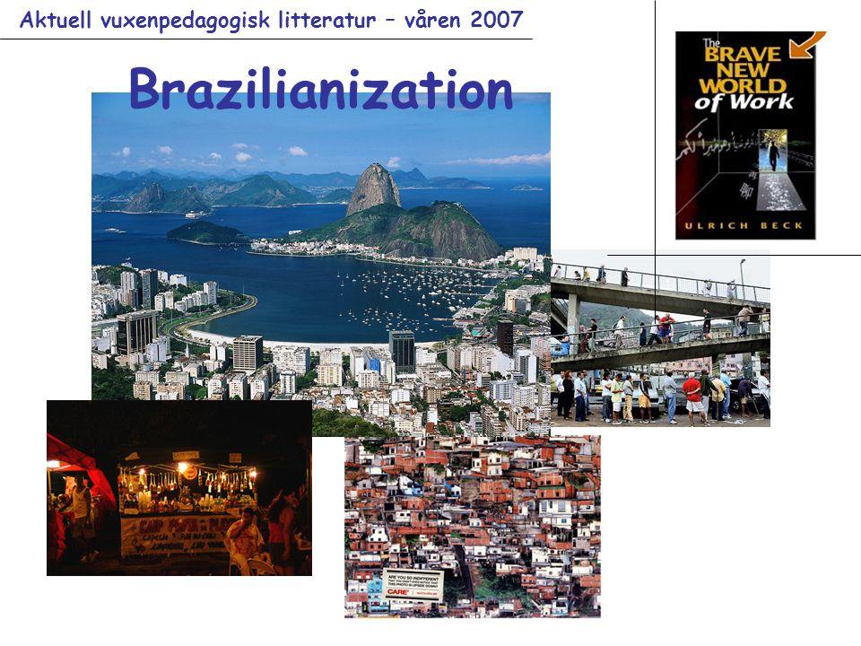Aktuell vuxenpedagogisk litteratur – våren 2007 Brazilianization