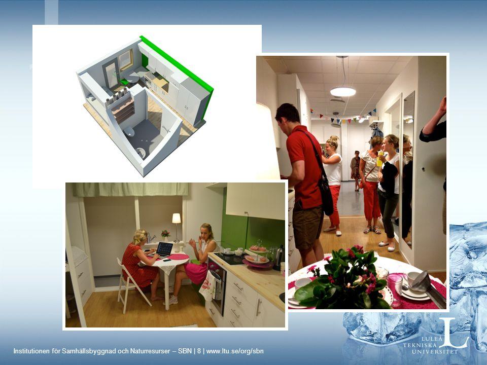 Institutionen för Samhällsbyggnad och Naturresurser – SBN | 9 | www.ltu.se/org/sbn