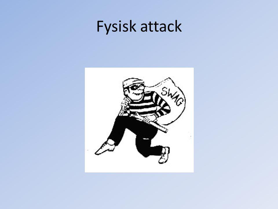 Fysisk attack