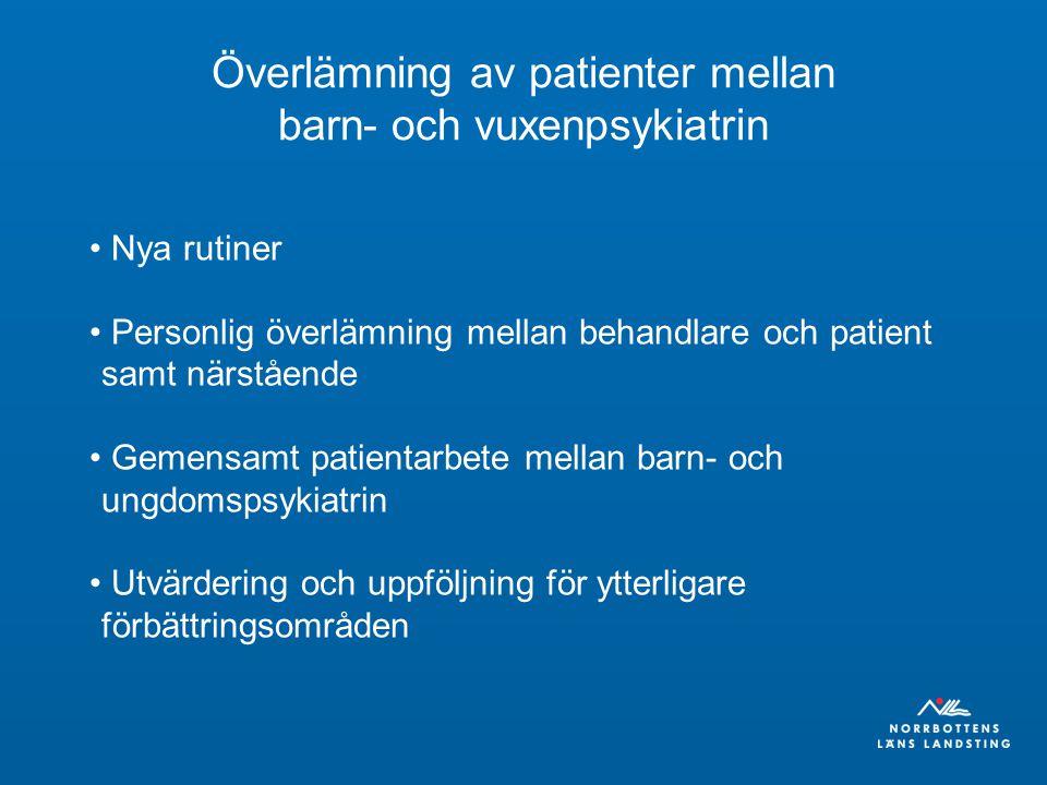 Handläggningsöverenskommelse Diabetes Anpassa till de nya riktlinjerna Alla enheter i Norrbotten är med Slutet av augusti 4000 registreringar – helåret 2009 totalt 6000 registrerade