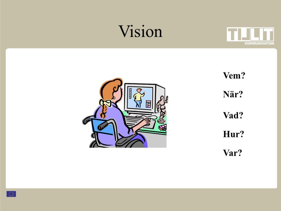 Var? Vem? Vad? Hur? När? Vision
