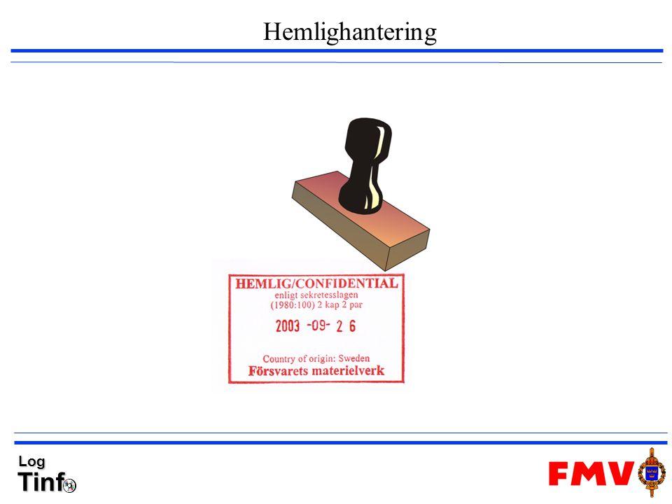 TinfLog Hemlighantering