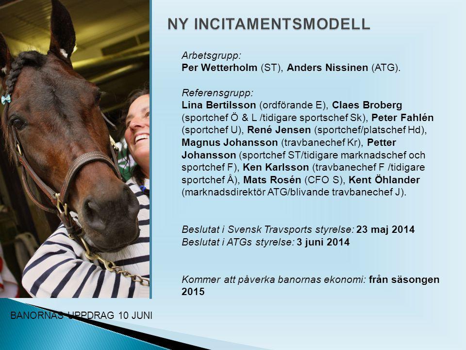 BANORNAS UPPDRAG 10 JUNI Arbetsgrupp: Per Wetterholm (ST), Anders Nissinen (ATG).