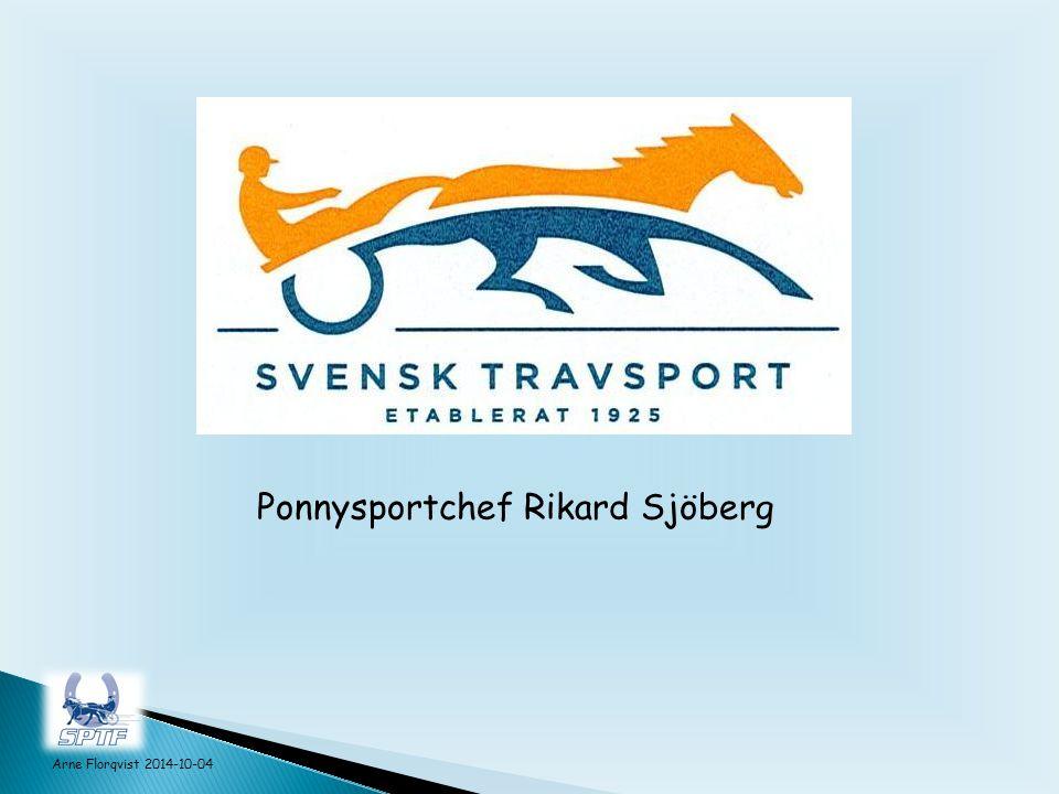 Ponnysportchef Rikard Sjöberg Arne Florqvist 2014-10-04