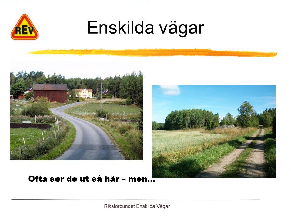 Kommunal eller enskild väg? …samma kommun … men vilken väg är kommunal ?