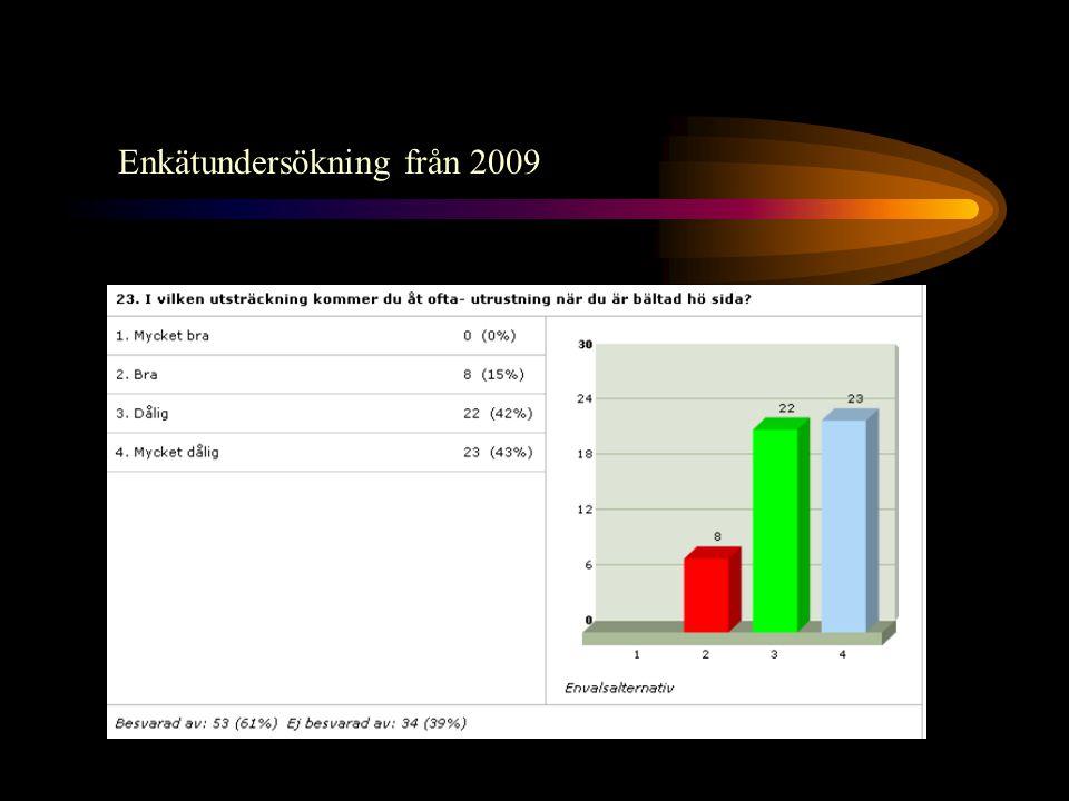 Enkätundersökning från 2009
