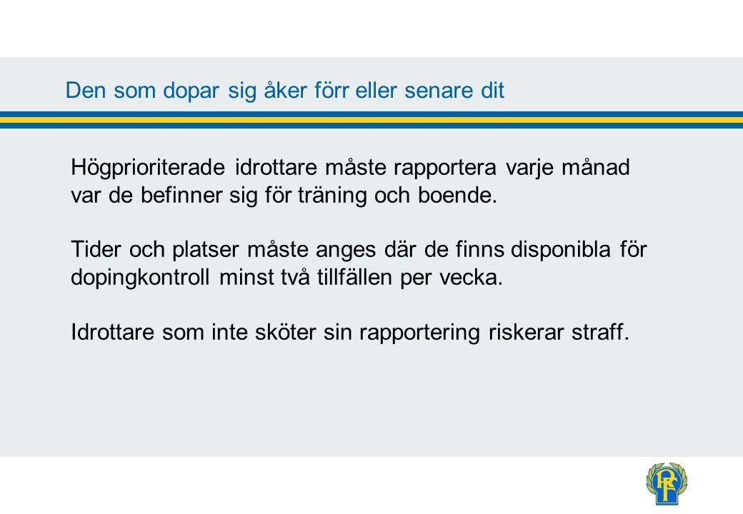 Vad tror du.Hur stor andel av svenska elitidrottare tror du är dopade.