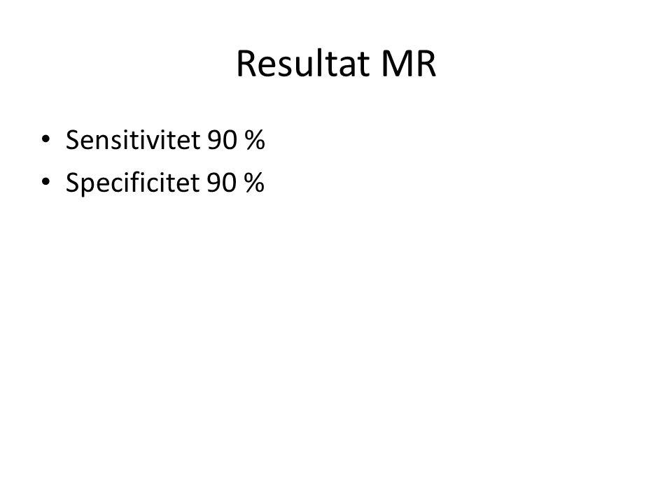 Slutsatser PET och MR har lägre sensitivitet och specificitet än SN men färre komplikationer Sensitiviteten är högre för MR än för PET Sensitiviteten är låg för små metastaser Analysen begränsas av få och små studier med MR Mer kostnadeffektivt?