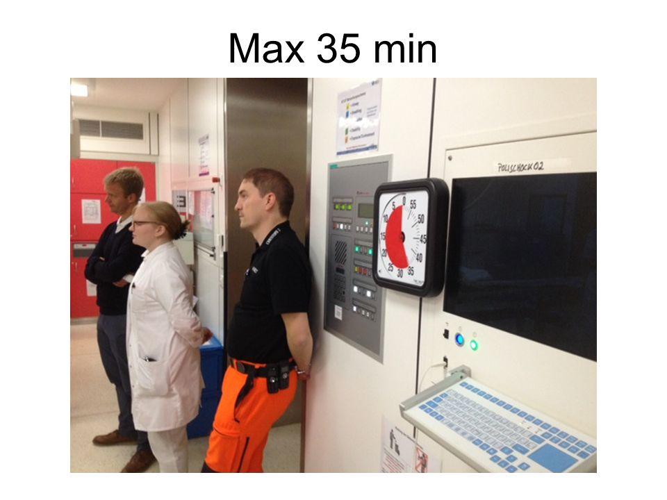 Max 35 min