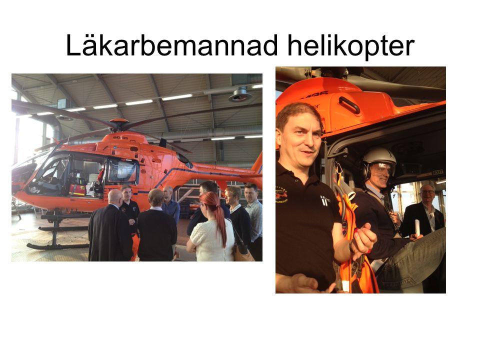 Läkarbemannad helikopter