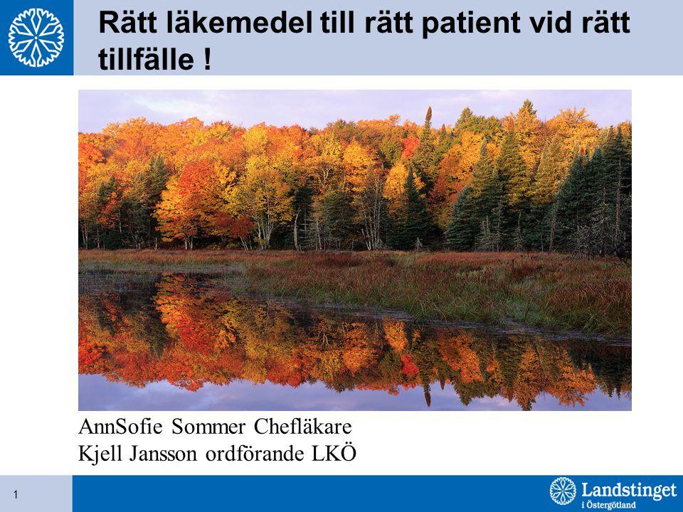 2 Ändring i föreskrifter och allmänna råd (SOSFS 2000:1) om läkemedelshantering i hälso- och sjukvård Gäller från 1 september 2012 Vad betyder den nya författningen?