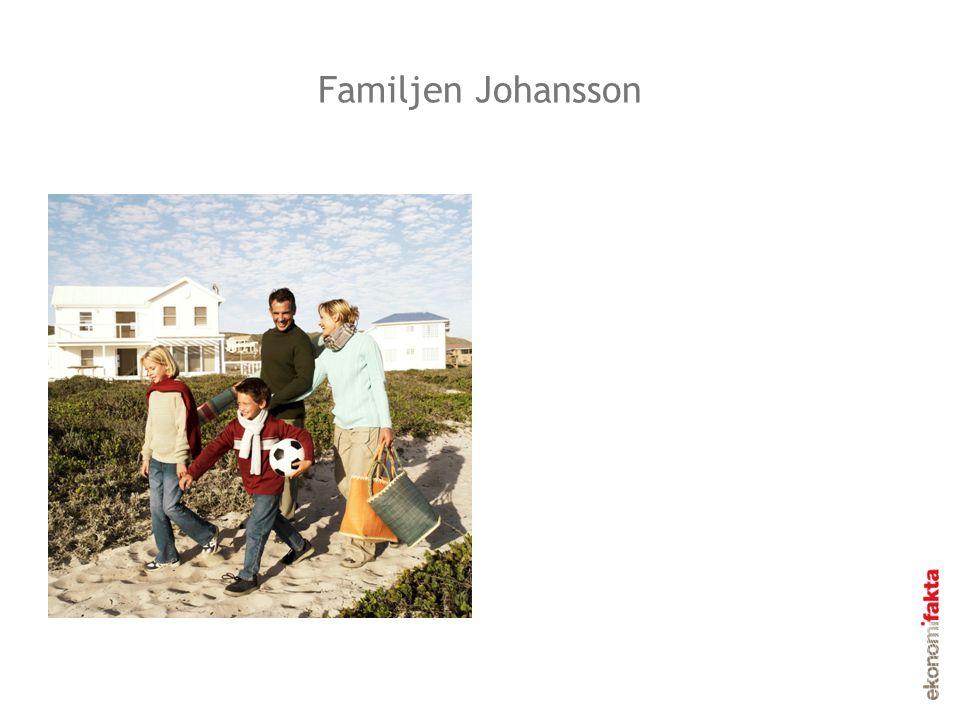 Byn Sverige Familjen Johansson