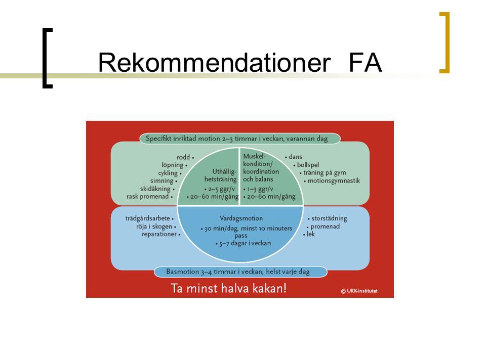 Rekommendationer FA