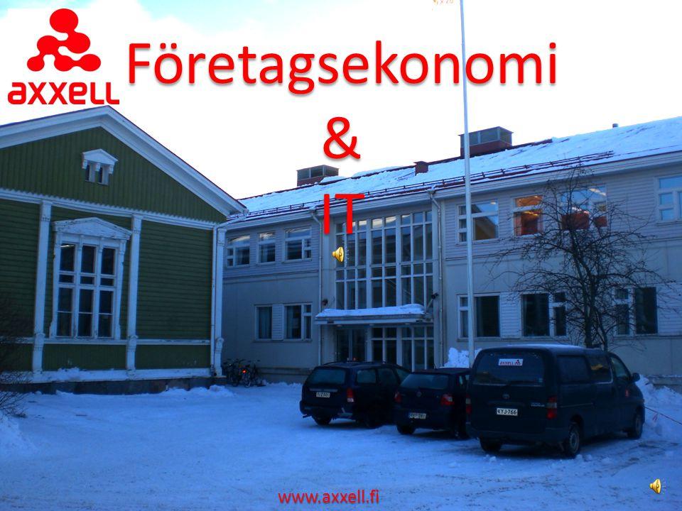 Företagsekonomi & IT www.axxell.fi